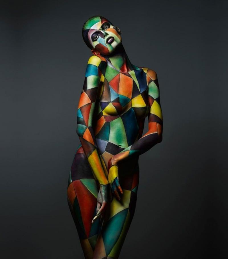 #فن الرسم على الجسم #body_painting - صورة ٢