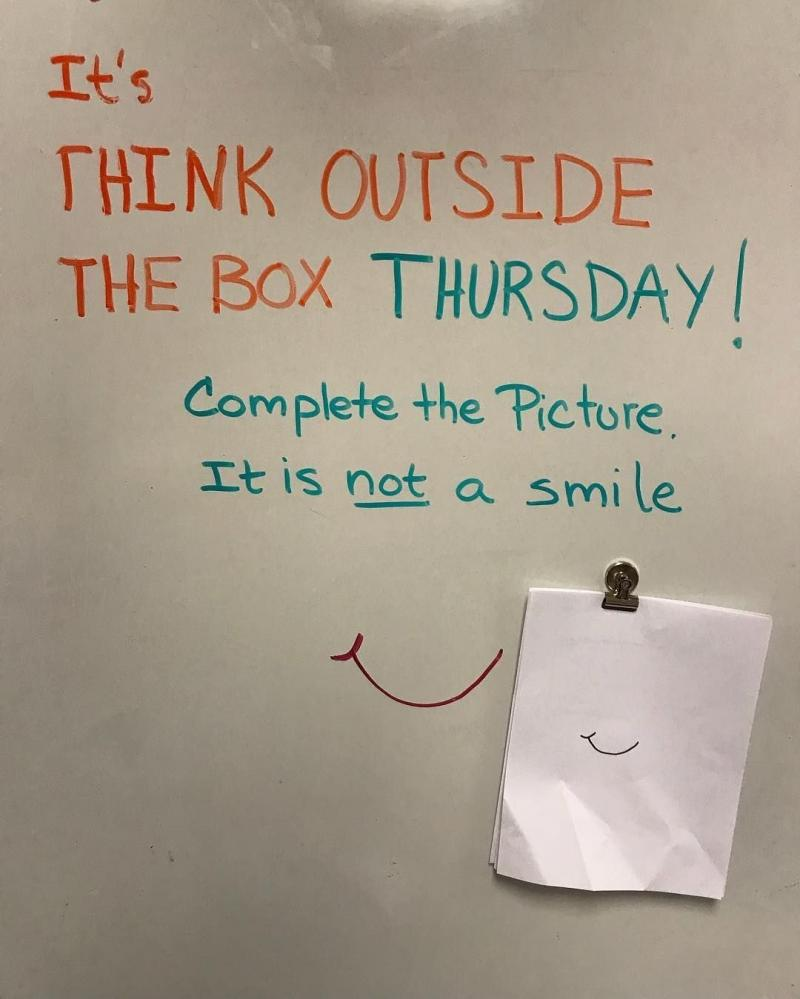 Think outside of the box challenge - image 8