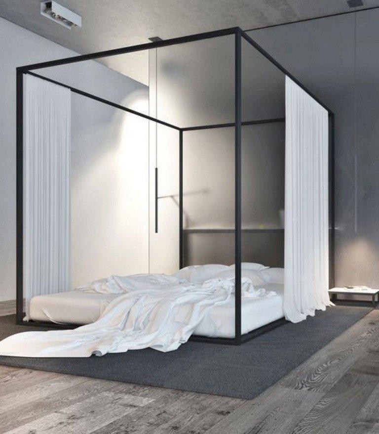 48 تصميم منوع ل #غرف_نوم للمساحات الصغيرة #منازل - صورة 13