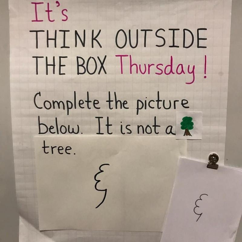 Think outside of the box challenge - image 16