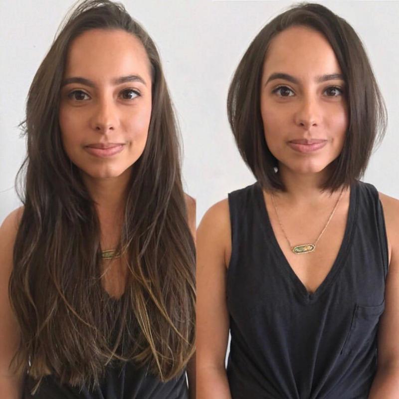 30 صورة لفتيات قمن بتقصير شعرهن فأيهما أفضل الشعر الطويل أم القصير #بنات - صورة 30
