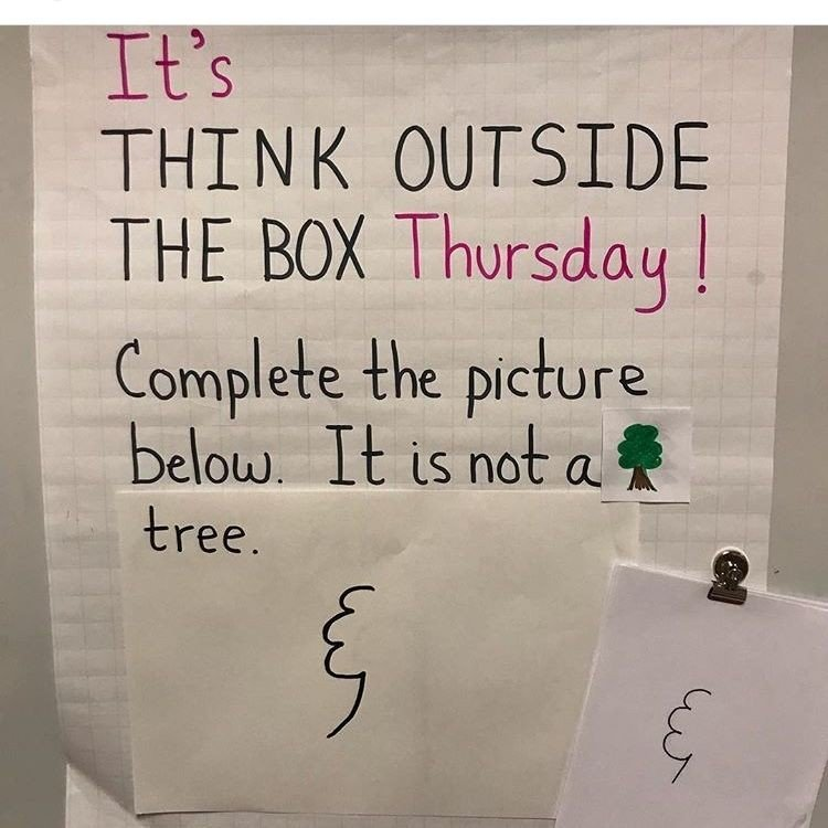 Think outside of the box challenge - image 7