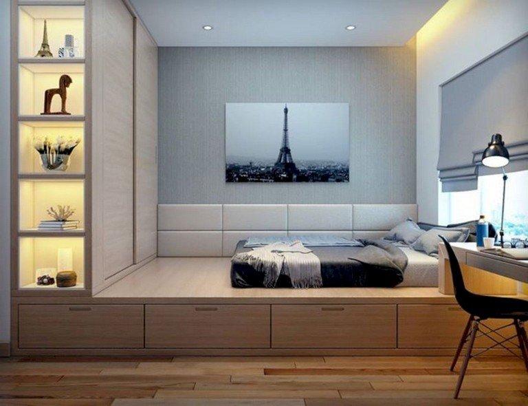 48 تصميم منوع ل #غرف_نوم للمساحات الصغيرة #منازل #بنات - صورة 41