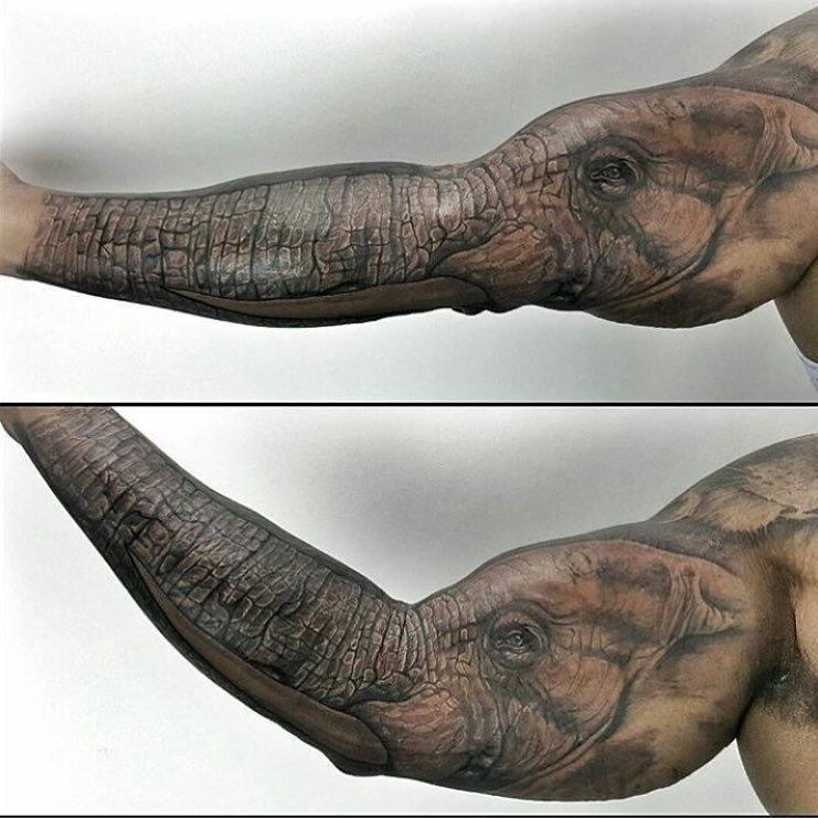 20 وشم #Tattoo ثلاثي الأبعاد #3D مبهر وخادع للبصر #فن - صورة 10
