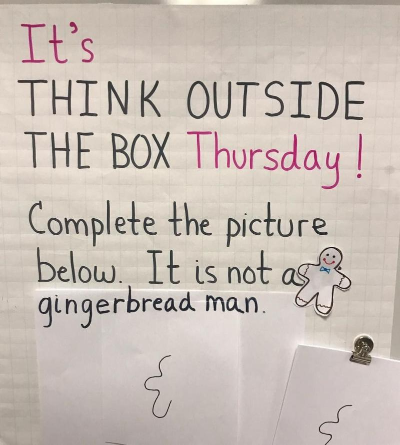 Think outside of the box challenge - image 12