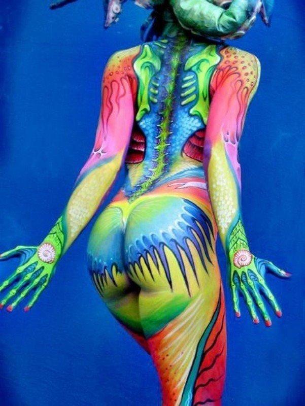 #فن الرسم على الجسم #body_painting - صورة ١
