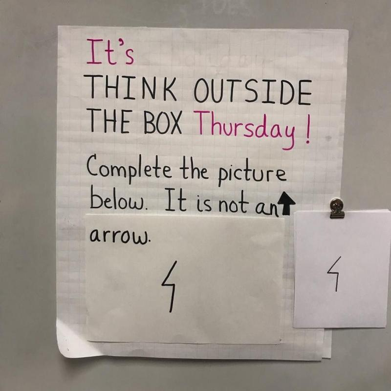 Think outside of the box challenge - image 15