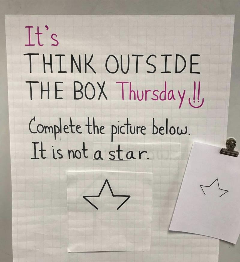 Think outside of the box challenge - image 10