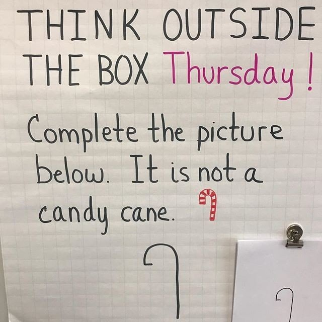 Think outside of the box challenge - image 1