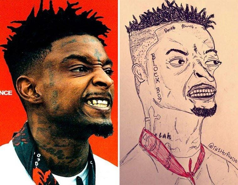 36 صورة لفنان يقوم بنشر رسومات مضحكة لصور #مشاهير على #تويتر @Tw1tterpicasso #مضحك #نهفات #فن - صورة 25