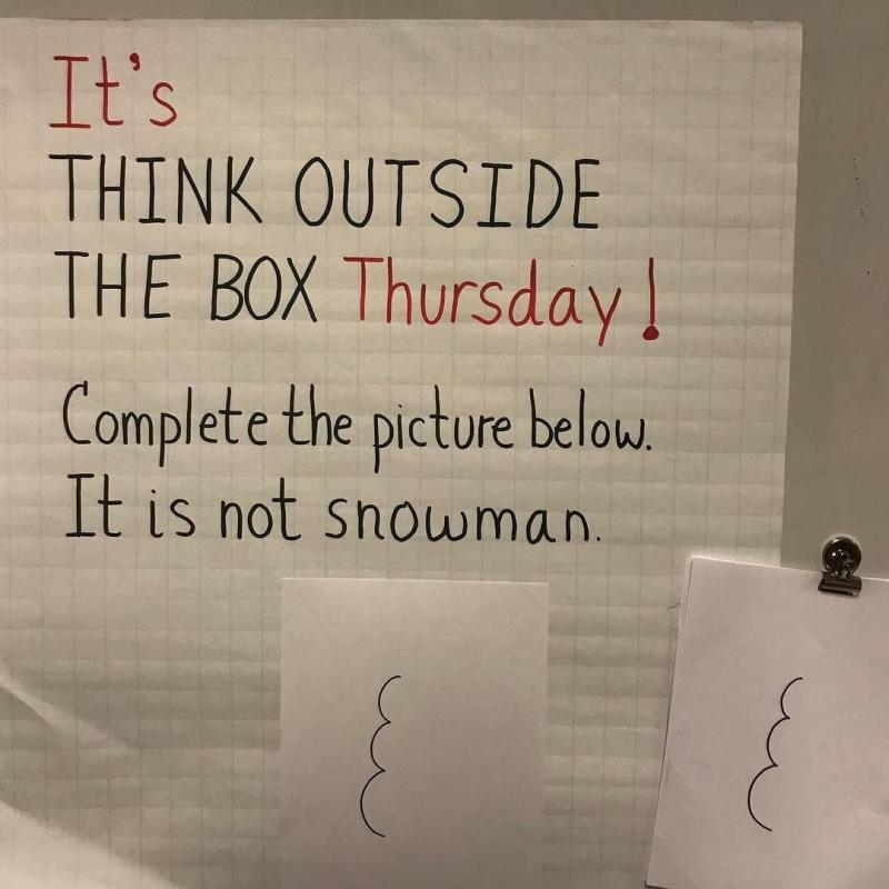 Think outside of the box challenge - image 9