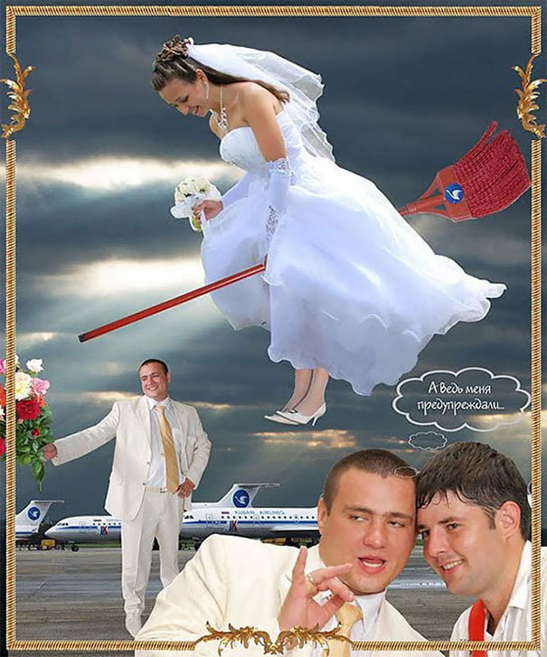 86 صورة أعراس تحصل فقط في #روسيا #مضحك #نهفات - صورة 73