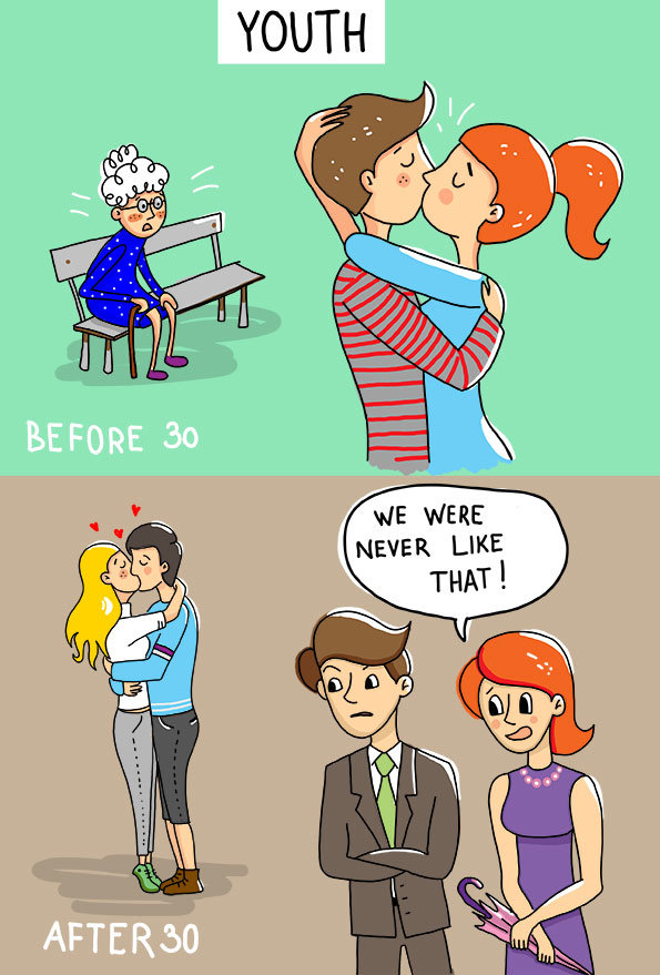 Life before and After 30 #funny - Image 16