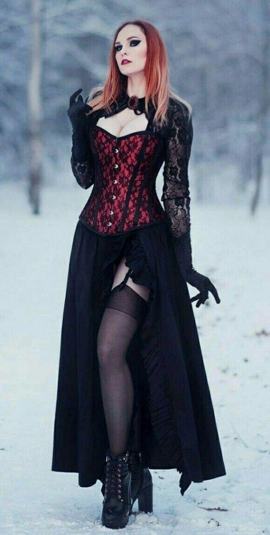 اللون الأسود الجريء موضة #فساتين ٢٠١٩ #بنات - صورة ١٢