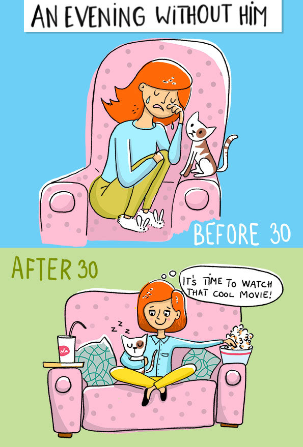 Life before and After 30 #funny - Image 1