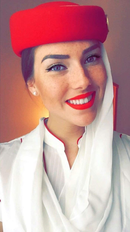 ٢٤ صورة لمضيفات طيران #الإمارات @emirates #بنات - صورة ١٥