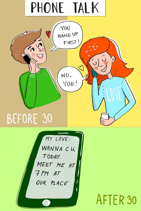 Life before and After 30 #funny - Image 2