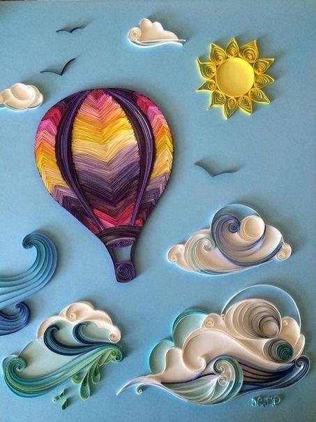 #فنالرسم بالورق الملون - صورة ٨