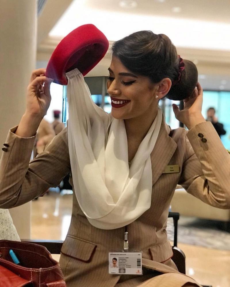 ٢٤ صورة لمضيفات طيران #الإمارات @emirates #بنات - صورة ١٨