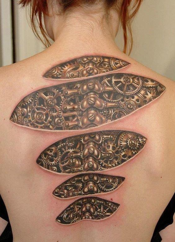 أكثر من 50 #وشم #Tattoo #وشوم ثلاثية الأبعاد #3D #فن - صورة 48