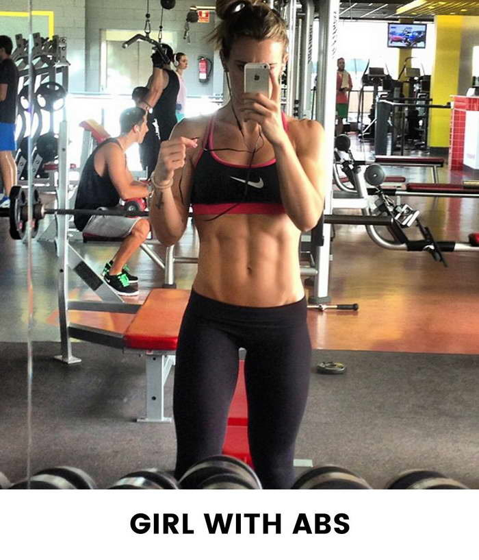 Eight Types Of Girls You See At The Gym - ABS Girls