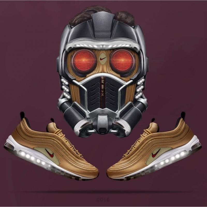 #تصاميم أحذية رياضية من شركة #Nike مستوحاة من أبطال شركة #Marvel الخارقين - صورة ٧