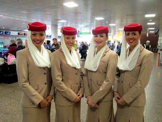 ٢٤ صورة لمضيفات طيران #الإمارات @emirates #بنات - صورة ١٧