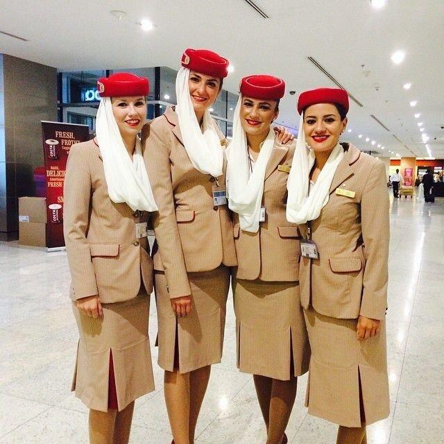 ٢٤ صورة لمضيفات طيران #الإمارات @emirates #بنات - صورة ١٤