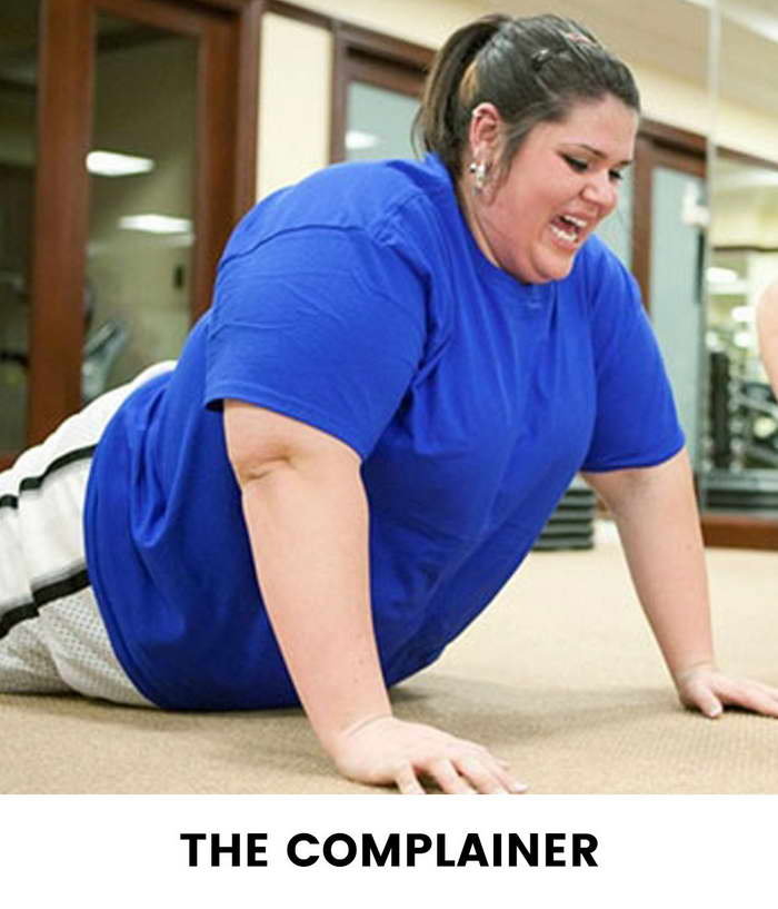 Eight Types Of Girls You See At The Gym - Complainer Girls