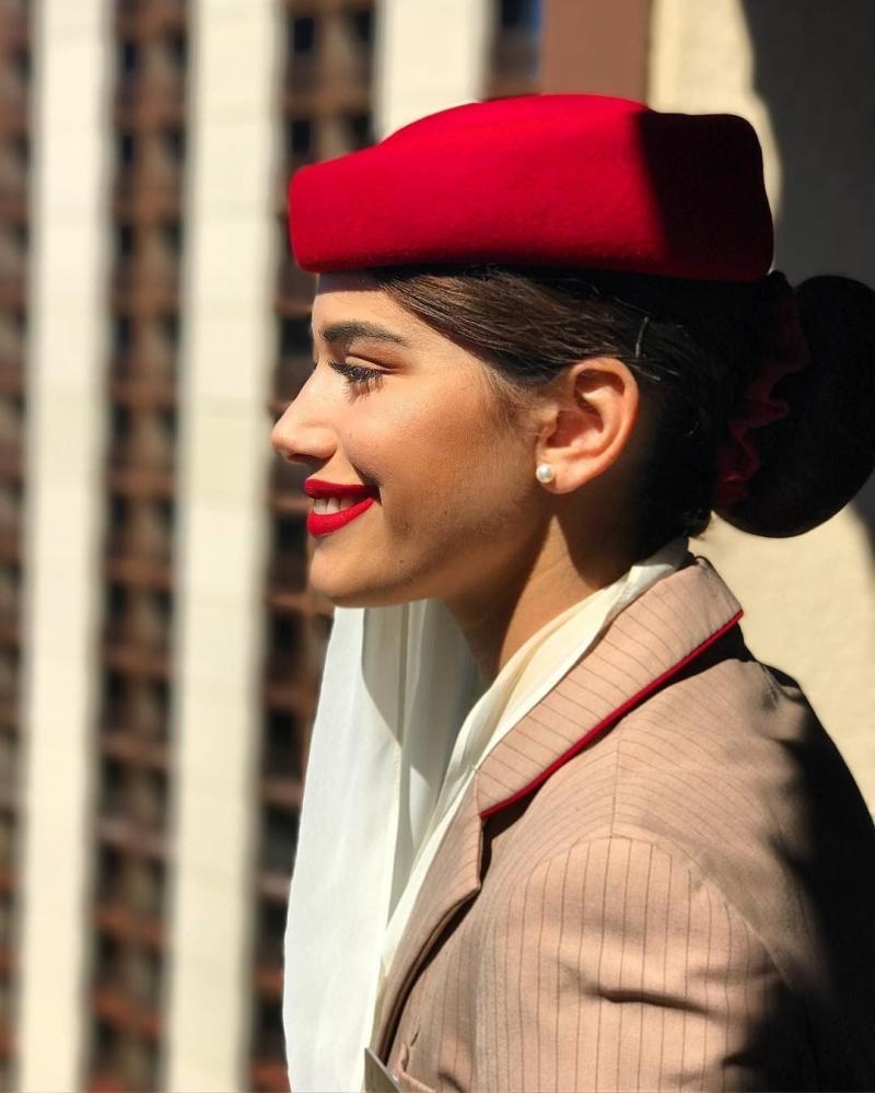 ٢٤ صورة لمضيفات طيران #الإمارات @emirates #بنات - صورة ١٦