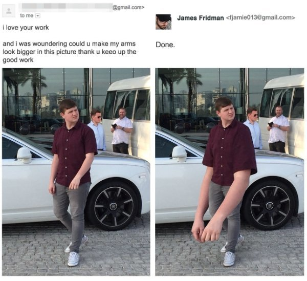 Amazing 25 Images of The Artist #James_Fridman Funny #Photoshop results - Image 5