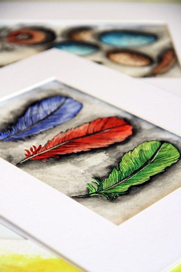 40 صورة ملونة باستخدام أقلام الرصاص #Pencil_Drawing #فن - صورة 28