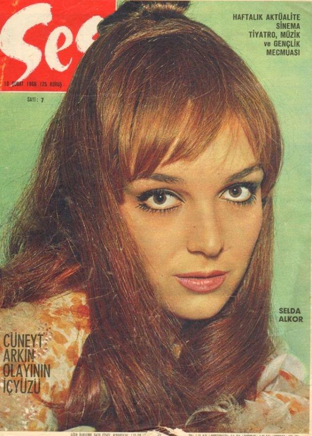 أكثر من 40 صورة غلاف لمجلة #Ses التركية المختصة بالجمال تعود للستينات من القرن الماضي #بنات #تاريخ - Selda Alkor