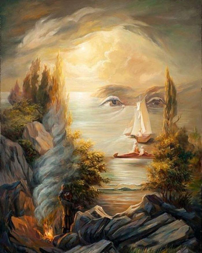 35 عمل فني خيالي للفنان #Oleg_Shuplyak الذي يتميز باستخدام #خداع_بصري لتنفيذ أعماله #فن - صورة 28
