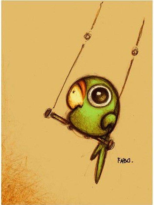 40 صورة ملونة باستخدام أقلام الرصاص #Pencil_Drawing #فن - صورة 36