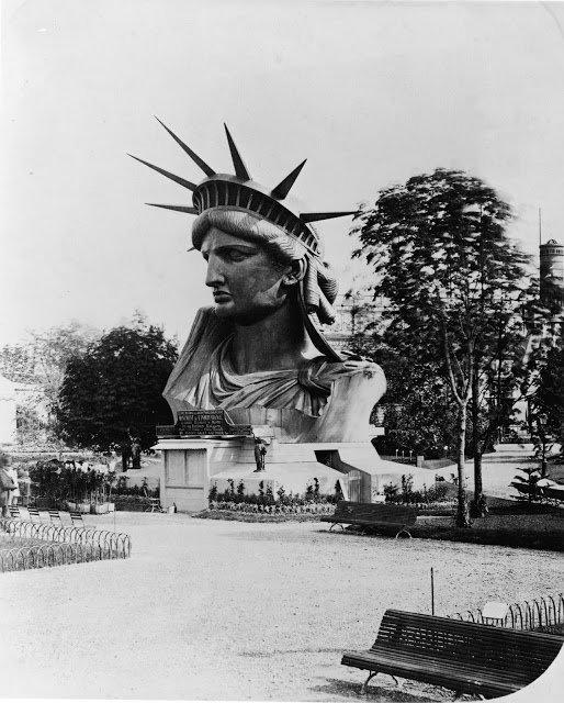 22 صورة نادرة لعملية بناء #تمثال_الحرية في #الولايات_المتحدة #تاريخ - صورة 5