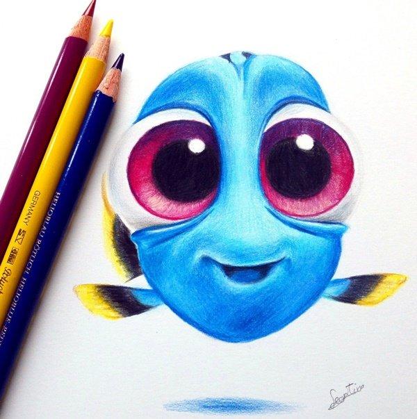 40 صورة ملونة باستخدام أقلام الرصاص #Pencil_Drawing #فن - صورة 3