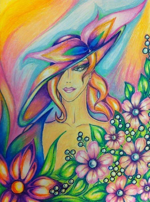 40 صورة ملونة باستخدام أقلام الرصاص #Pencil_Drawing #فن - صورة 32