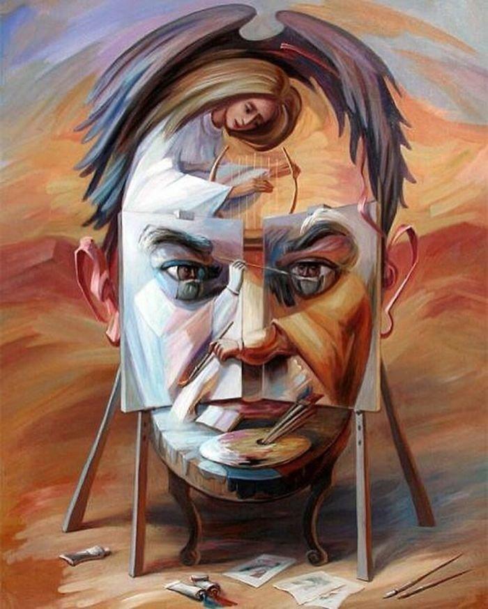 35 عمل فني خيالي للفنان #Oleg_Shuplyak الذي يتميز باستخدام #خداع_بصري لتنفيذ أعماله #فن - صورة 12