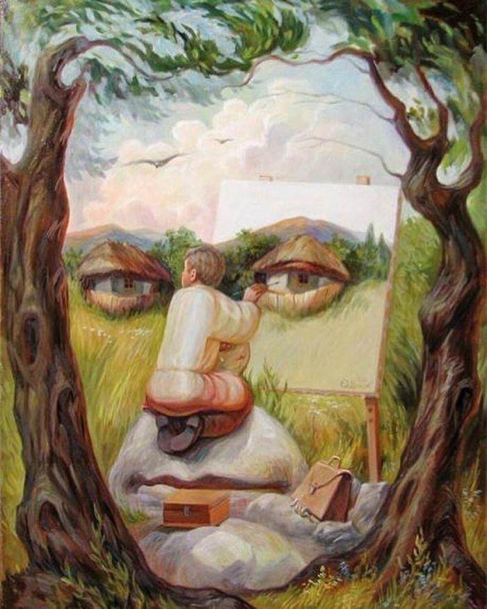 35 عمل فني خيالي للفنان #Oleg_Shuplyak الذي يتميز باستخدام #خداع_بصري لتنفيذ أعماله #فن - صورة 27
