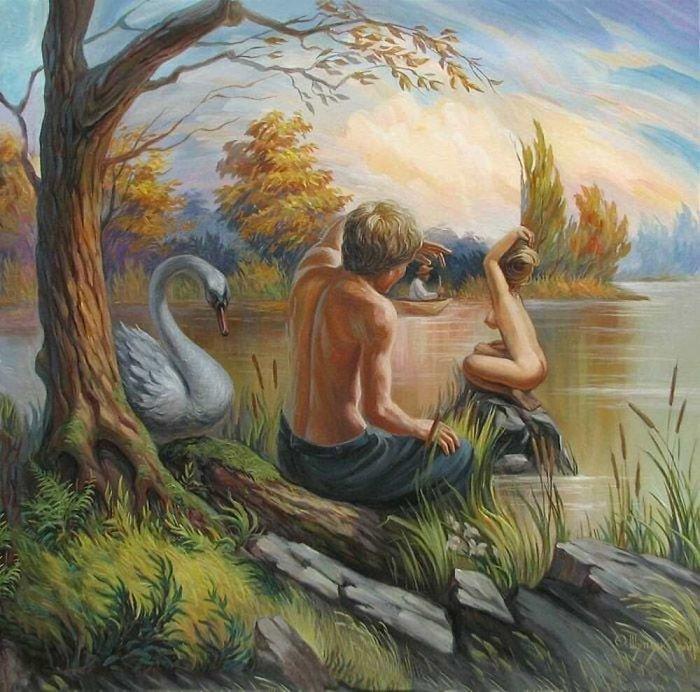 35 عمل فني خيالي للفنان #Oleg_Shuplyak الذي يتميز باستخدام #خداع_بصري لتنفيذ أعماله #فن - صورة 14