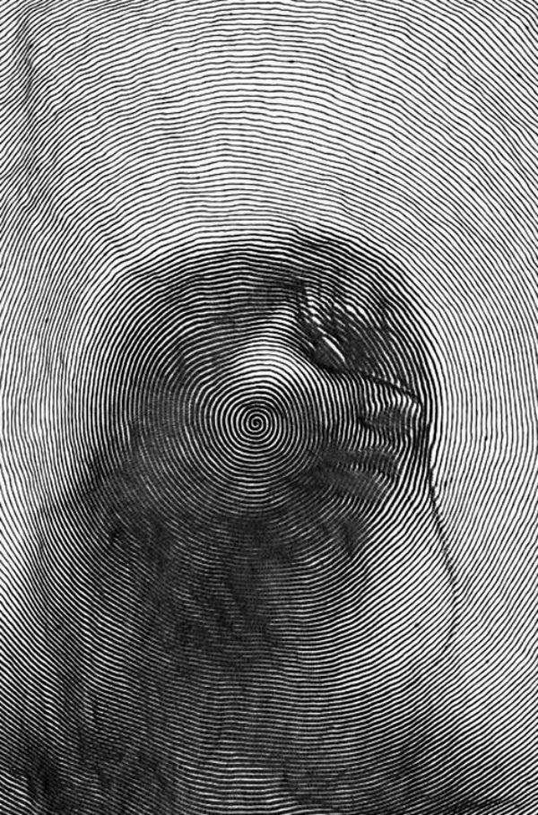 40 صورة للوحات فنية باستخدام الخطوط #Lines_Drawings #فن - صورة 29