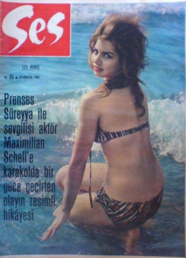 أكثر من 40 صورة غلاف لمجلة #Ses التركية المختصة بالجمال تعود للستينات من القرن الماضي #بنات #تاريخ - Barbara Nelli
