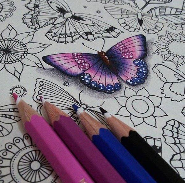 40 صورة ملونة باستخدام أقلام الرصاص #Pencil_Drawing #فن - صورة 37