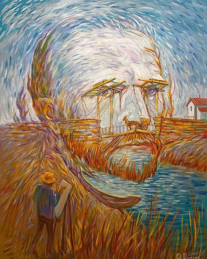 35 عمل فني خيالي للفنان #Oleg_Shuplyak الذي يتميز باستخدام #خداع_بصري لتنفيذ أعماله #فن - صورة 11