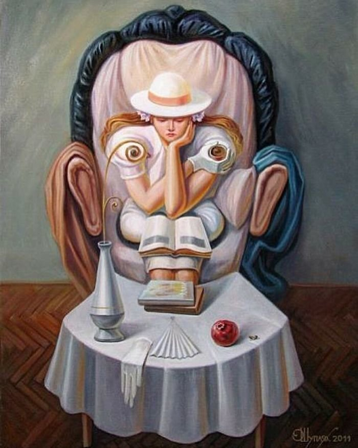 35 عمل فني خيالي للفنان #Oleg_Shuplyak الذي يتميز باستخدام #خداع_بصري لتنفيذ أعماله #فن - صورة 8