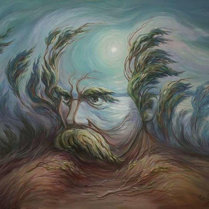 35 عمل فني خيالي للفنان #Oleg_Shuplyak الذي يتميز باستخدام #خداع_بصري لتنفيذ أعماله #فن - صورة 32