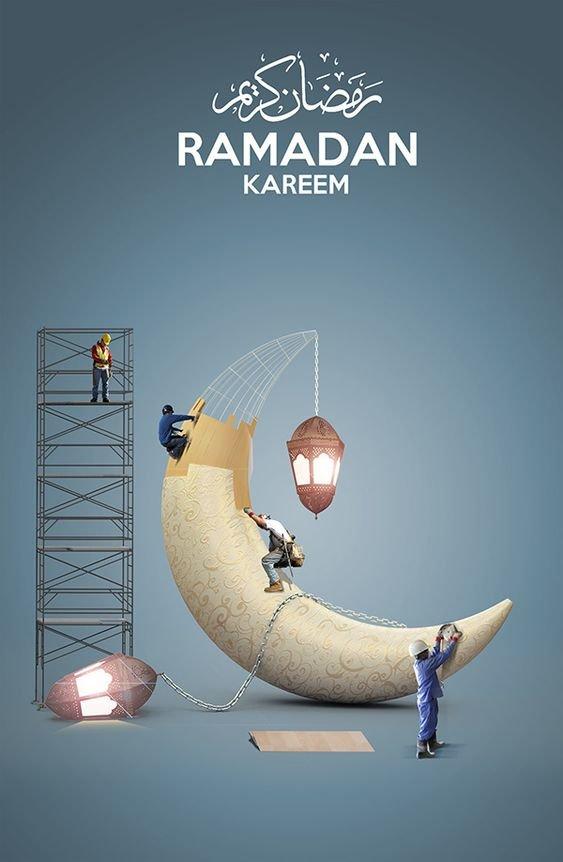 10 صور #خلفيات #بطاقات للكتابة عليها #رمضان - صورة 1