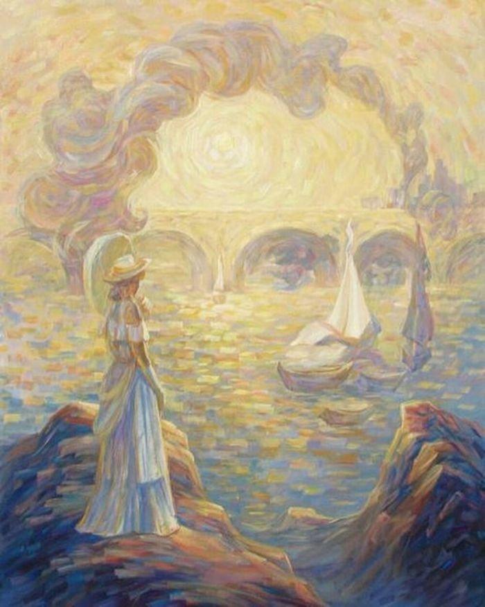 35 عمل فني خيالي للفنان #Oleg_Shuplyak الذي يتميز باستخدام #خداع_بصري لتنفيذ أعماله #فن - صورة 21