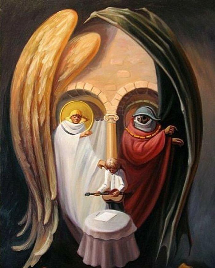 35 عمل فني خيالي للفنان #Oleg_Shuplyak الذي يتميز باستخدام #خداع_بصري لتنفيذ أعماله #فن - صورة 9